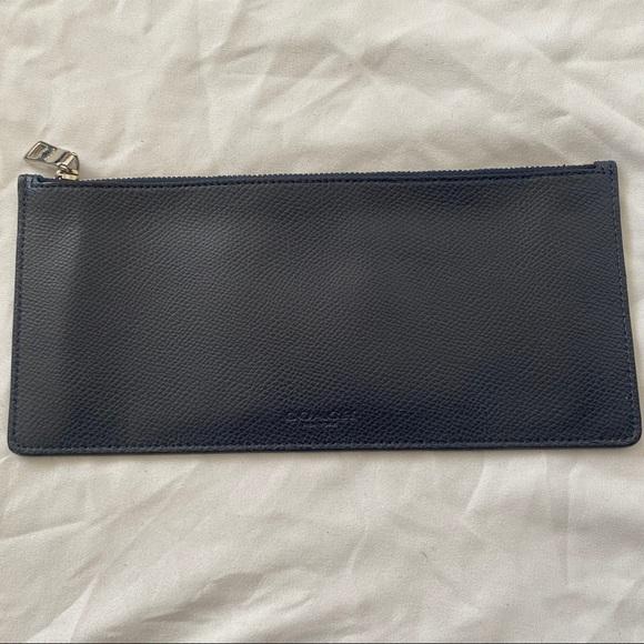 Coach Handbags - Coach Wallet (Navy Blue)